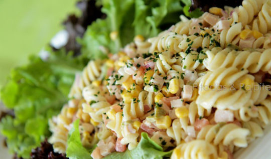 salada de macarrao