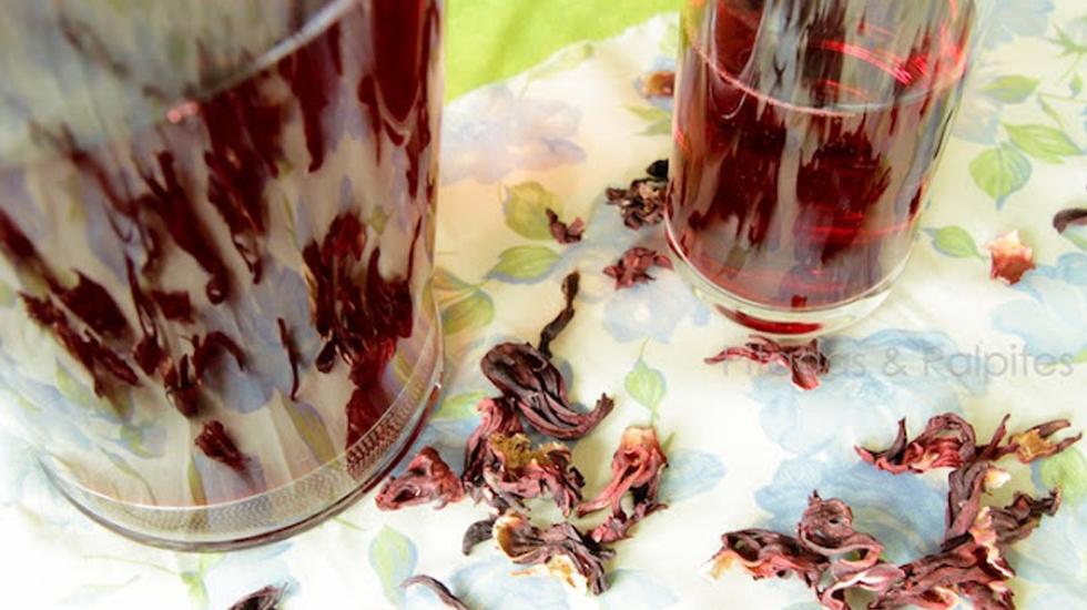cha de hibiscus