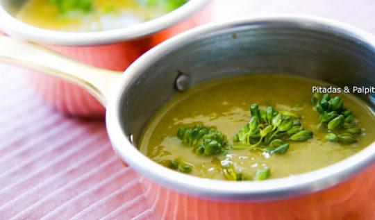 sopa de brocolis