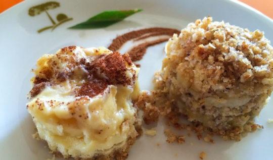 torta de banana e quinoa