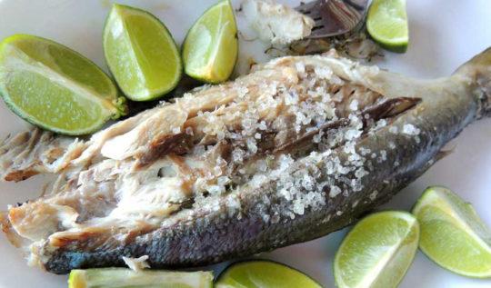 Churrasco de peixe
