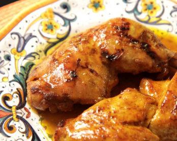 frango com curry e mel